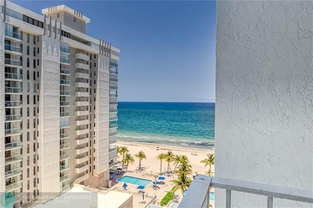 1010 S Ocean Blvd #1212, Pompano Beach, FL 33062 (#F10285994) :: DO Homes Group
