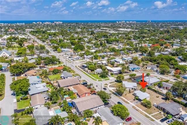 1632 NE 54th St, Pompano Beach, FL 33064 (#F10286030) :: Michael Kaufman Real Estate