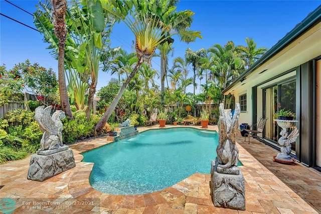 2081 NE 55th St, Fort Lauderdale, FL 33308 (#F10286034) :: Michael Kaufman Real Estate