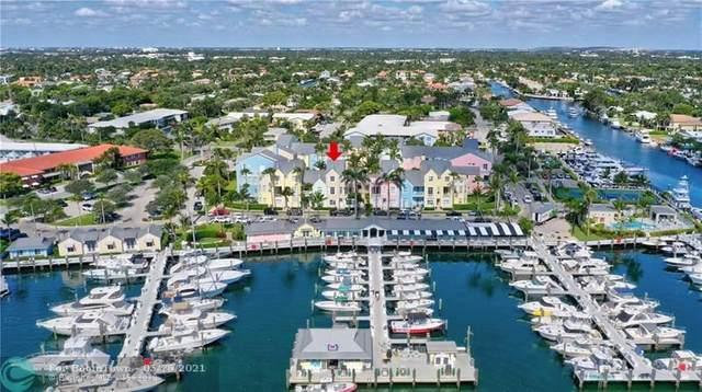 2845 Marina Cir #2845, Lighthouse Point, FL 33064 (MLS #F10286038) :: Dalton Wade Real Estate Group
