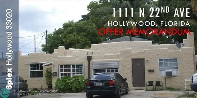 1111 N 22nd Ave, Hollywood, FL 33020 (#F10286185) :: Heather Towe | Keller Williams Jupiter