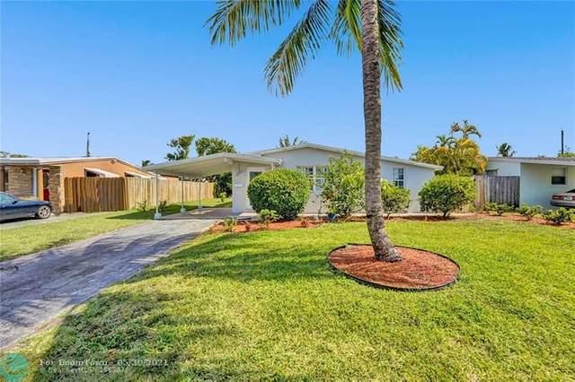 760 NE 60th St, Oakland Park, FL 33334 (#F10286664) :: Michael Kaufman Real Estate