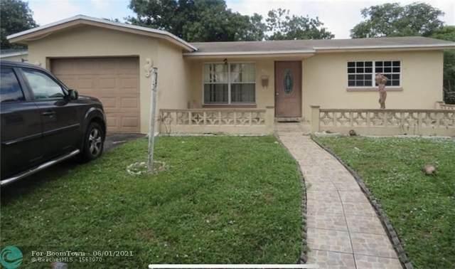 4165 NW 47th Ter, Lauderdale Lakes, FL 33319 (MLS #F10287034) :: Berkshire Hathaway HomeServices EWM Realty