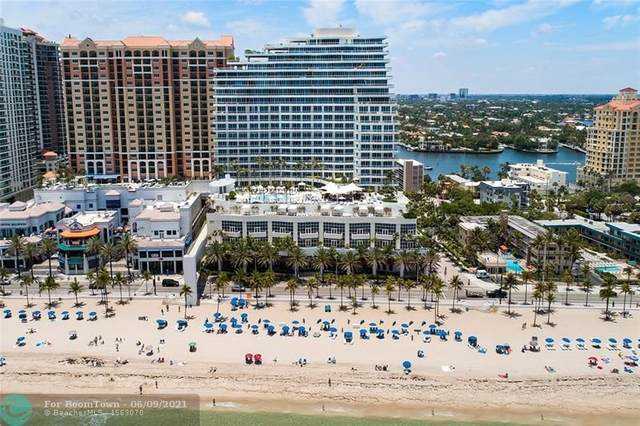 1 N Fort Lauderdale Beach Blvd. #1807, Fort Lauderdale, FL 33304 (#F10287105) :: Michael Kaufman Real Estate