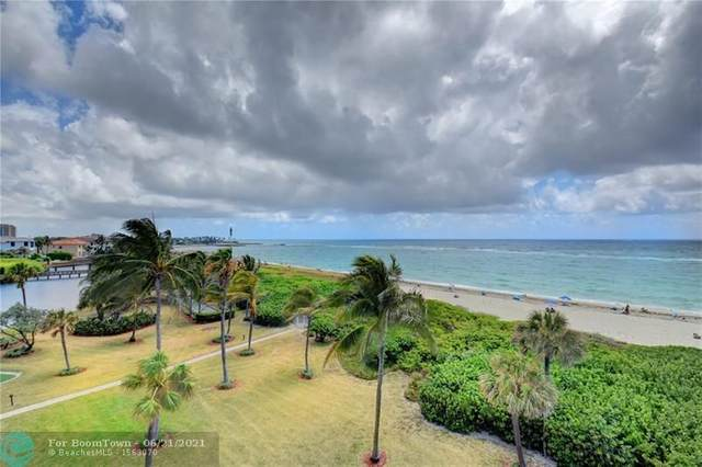 1610 N Ocean Blvd #404, Pompano Beach, FL 33062 (#F10287238) :: Baron Real Estate