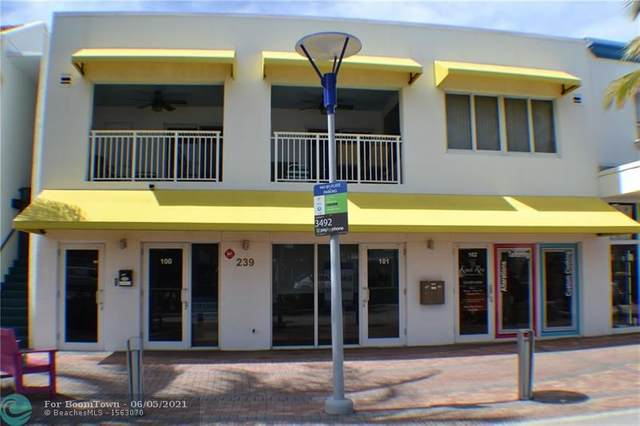 239 Commercial Blvd 100 101, Lauderdale By The Sea, FL 33308 (MLS #F10287745) :: Castelli Real Estate Services