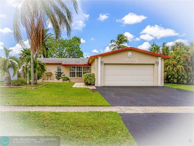 10840 NW 29th Mnr, Sunrise, FL 33322 (MLS #F10287815) :: Castelli Real Estate Services