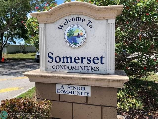 2840 Somerset Dr 400M, Lauderdale Lakes, FL 33311 (#F10287929) :: Michael Kaufman Real Estate