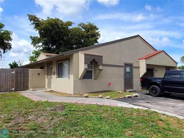 7171 SW 14TH ST, North Lauderdale, FL 33068 (MLS #F10288204) :: Castelli Real Estate Services