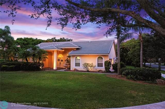 6589 NW 72nd Pl, Parkland, FL 33067 (MLS #F10288326) :: Berkshire Hathaway HomeServices EWM Realty