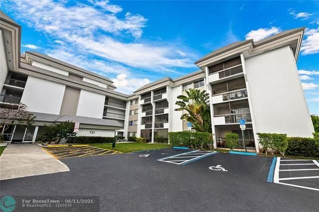 721 N Pine Island Rd #107, Plantation, FL 33324 (MLS #F10288620) :: Berkshire Hathaway HomeServices EWM Realty