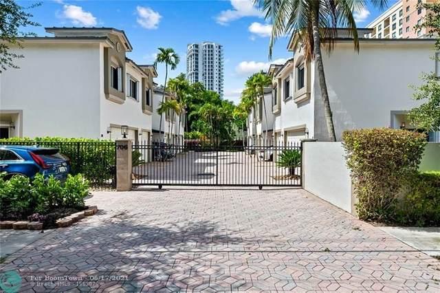706 NE 2nd St #7, Fort Lauderdale, FL 33301 (MLS #F10289360) :: Green Realty Properties
