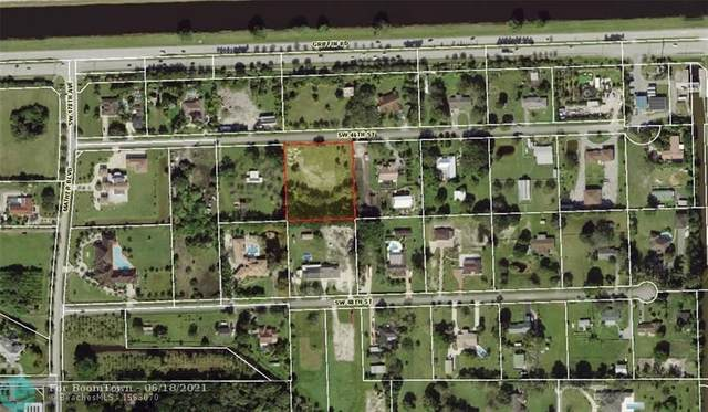 17500 SW 46 ST, Southwest Ranches, FL 33331 (MLS #F10289518) :: THE BANNON GROUP at RE/MAX CONSULTANTS REALTY I