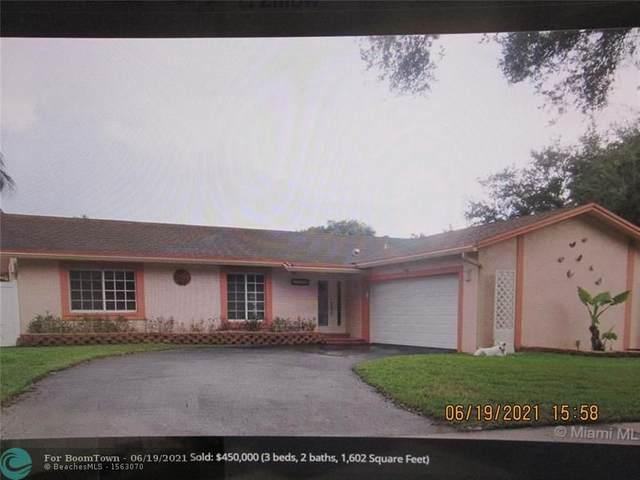 11538 SW 55th Ct, Cooper City, FL 33330 (MLS #F10289710) :: Green Realty Properties
