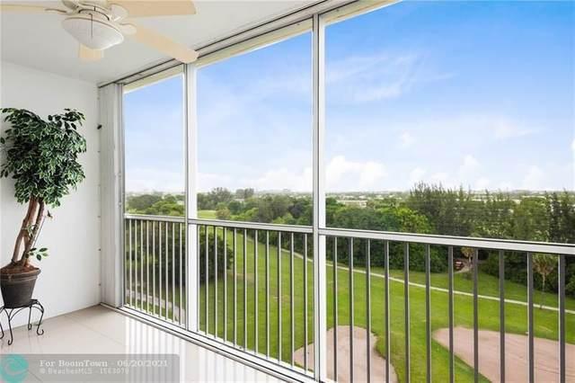 3150 N Palm Aire Dr #903, Pompano Beach, FL 33069 (#F10289741) :: Michael Kaufman Real Estate