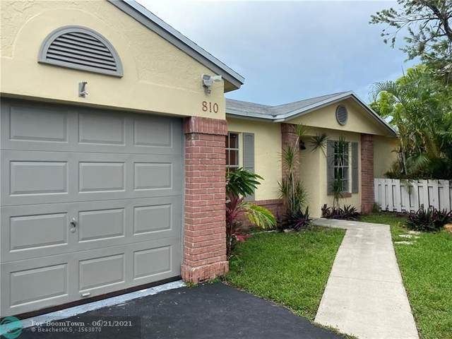 810 Cumberland Ter, Davie, FL 33325 (MLS #F10289746) :: Green Realty Properties