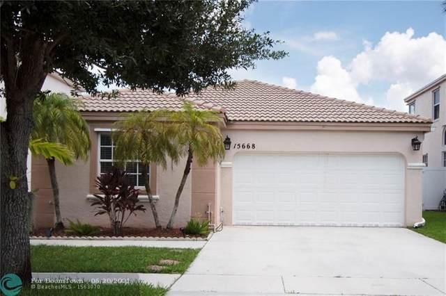 15668 NW 12th Rd, Pembroke Pines, FL 33028 (MLS #F10289751) :: Green Realty Properties