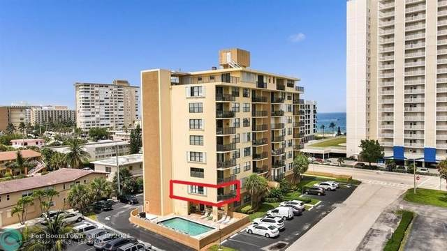 801 N Ocean Blvd #204, Pompano Beach, FL 33062 (#F10290094) :: Dalton Wade