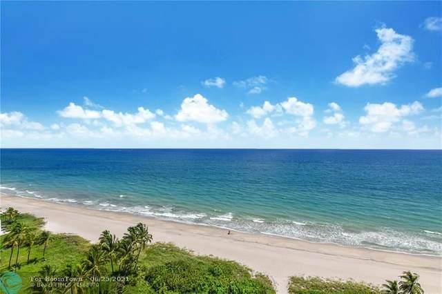 1390 S Ocean Boulevard 15B, Pompano Beach, FL 33062 (#F10290420) :: The Reynolds Team | Compass