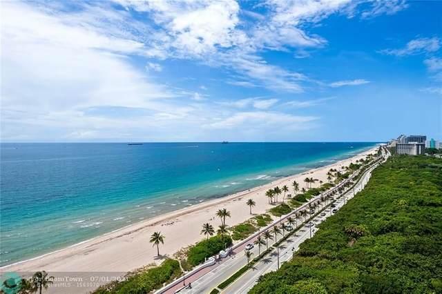 1151 N Fort Lauderdale Beach Blvd 17C, Fort Lauderdale, FL 33304 (#F10290969) :: DO Homes Group