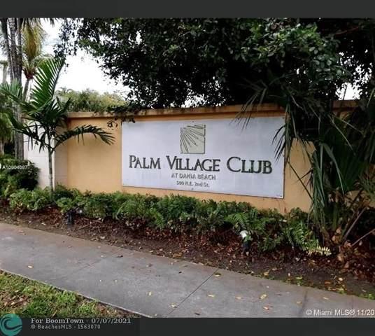 500 NE 2ND ST #308, Dania Beach, FL 33004 (#F10291444) :: Michael Kaufman Real Estate