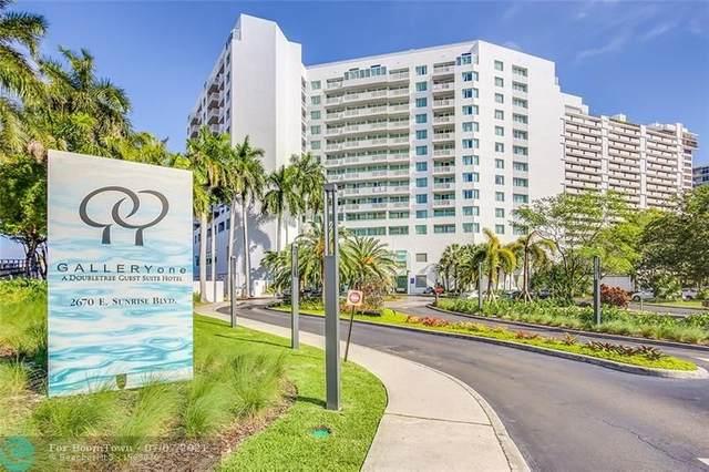 2670 E Sunrise Blvd #407, Fort Lauderdale, FL 33304 (#F10292084) :: Dalton Wade