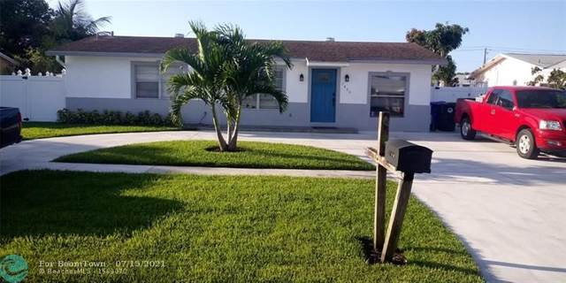7804 SW 9th St, North Lauderdale, FL 33068 (MLS #F10293055) :: Green Realty Properties