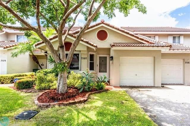 7580 S Pinewalk Dr #7580, Margate, FL 33063 (MLS #F10293091) :: Berkshire Hathaway HomeServices EWM Realty