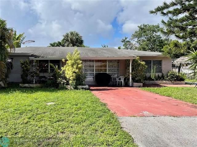 100 NE 49th St, Oakland Park, FL 33334 (MLS #F10293108) :: Berkshire Hathaway HomeServices EWM Realty