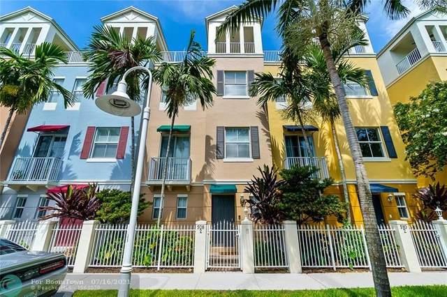 508 NE 7th Ave #2, Fort Lauderdale, FL 33301 (#F10293209) :: Treasure Property Group