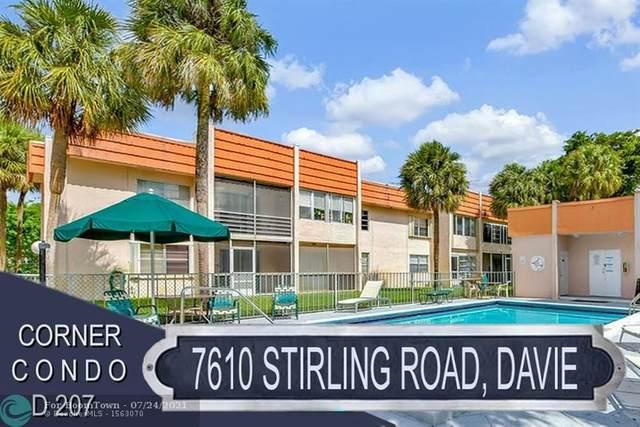 7610 Stirling Rd D207, Davie, FL 33024 (#F10293287) :: Dalton Wade