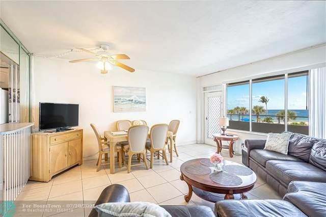 4050 N Ocean Drive #307, Lauderdale By The Sea, FL 33308 (MLS #F10293374) :: Berkshire Hathaway HomeServices EWM Realty