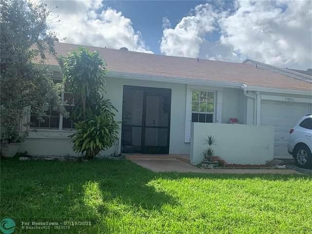 5580 S Lakewood Cir C, Margate, FL 33063 (#F10293472) :: DO Homes Group