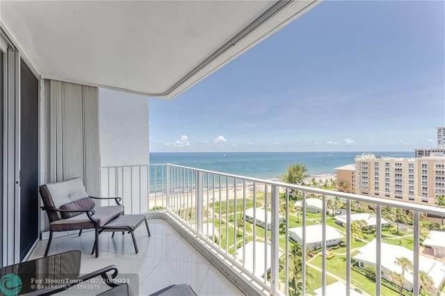 1010 S Ocean Blvd #1406, Pompano Beach, FL 33062 (#F10293667) :: DO Homes Group