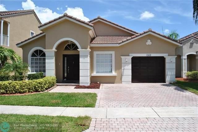 12639 NW 6th Ct, Coral Springs, FL 33071 (#F10293753) :: Dalton Wade