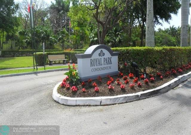 110 Royal Park Dr 1C, Oakland Park, FL 33309 (MLS #F10294117) :: Berkshire Hathaway HomeServices EWM Realty