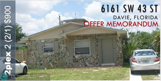 6161 SW 43rd St, Davie, FL 33314 (MLS #F10294504) :: Patty Accorto Team