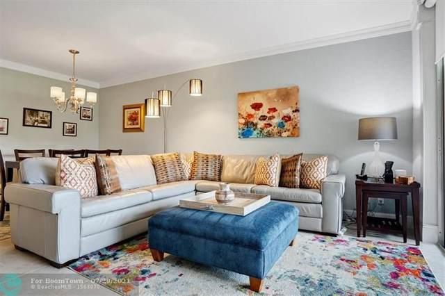 3507 Oaks Way #108, Pompano Beach, FL 33069 (MLS #F10294756) :: Castelli Real Estate Services