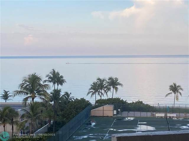 5100 N Ocean Blvd #818, Lauderdale By The Sea, FL 33308 (MLS #F10295092) :: THE BANNON GROUP at RE/MAX CONSULTANTS REALTY I