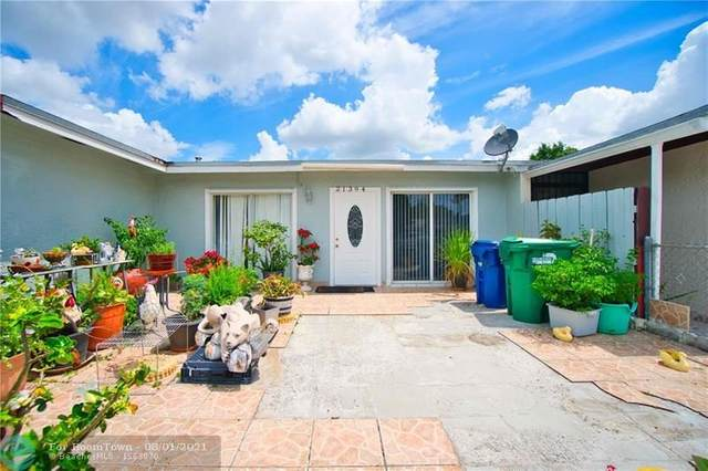 21394 NW 40th Circle Ct, Miami Gardens, FL 33055 (MLS #F10295135) :: The Howland Group