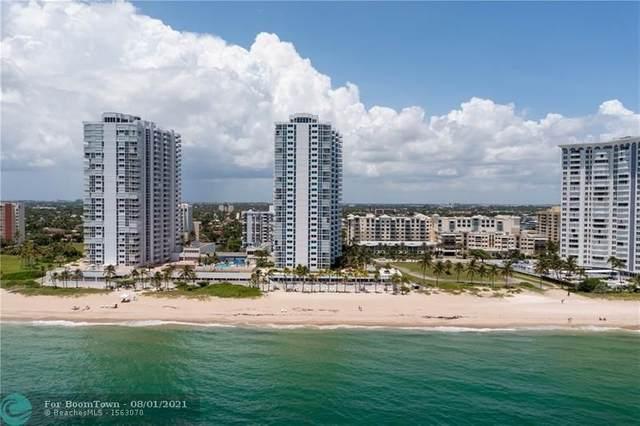 1360 S Ocean Blvd #1201, Pompano Beach, FL 33062 (MLS #F10295252) :: The Jack Coden Group
