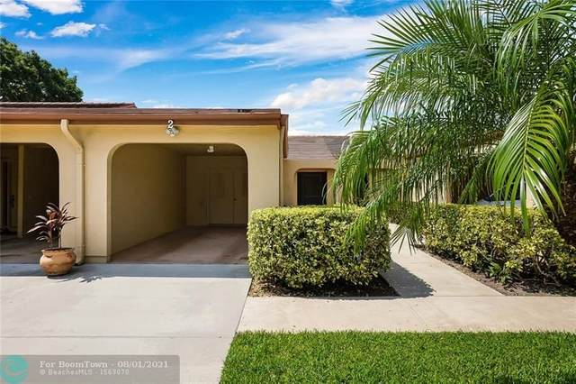 5920 Forest Grove Dr #2, Boynton Beach, FL 33437 (MLS #F10295264) :: Berkshire Hathaway HomeServices EWM Realty