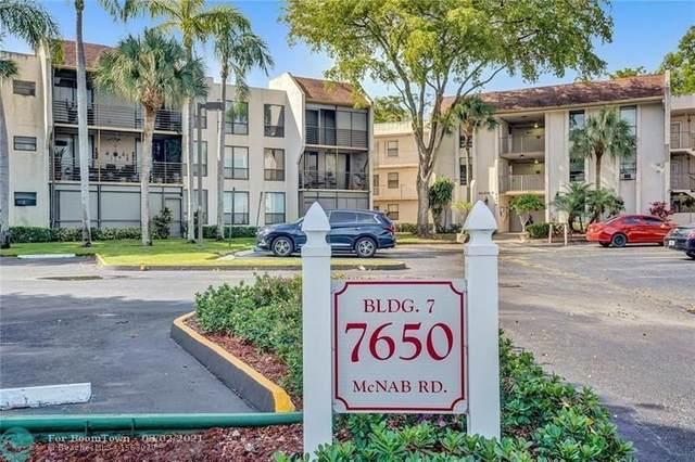 7650 W Mcnab Rd #212, Tamarac, FL 33321 (#F10295341) :: Baron Real Estate
