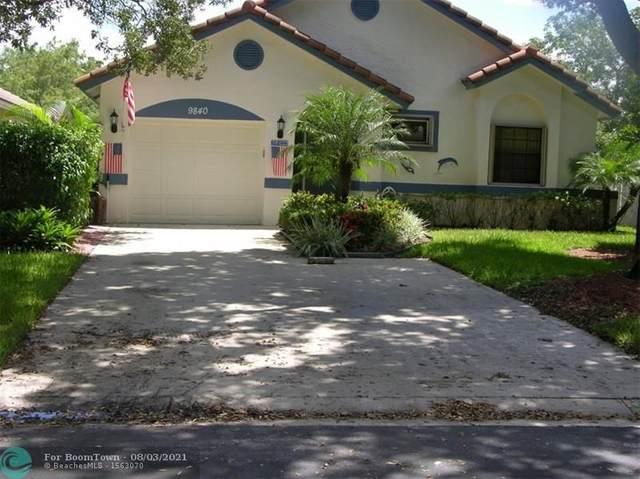 9840 NW 5TH CT, Plantation, FL 33324 (MLS #F10295472) :: Green Realty Properties