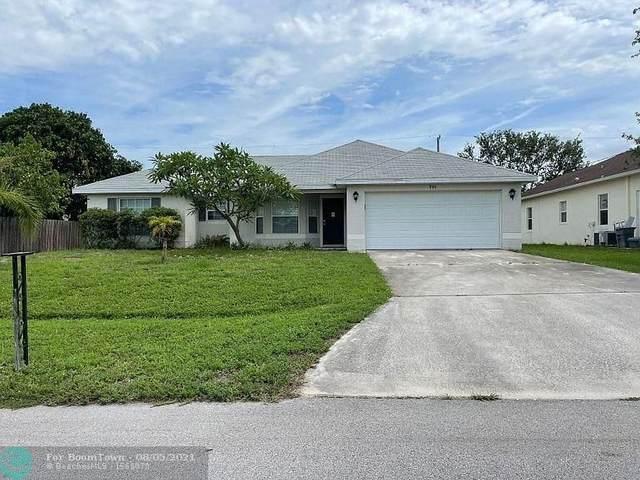 701 SW Sarazen Ave, Port Saint Lucie, FL 34953 (MLS #F10295840) :: Green Realty Properties