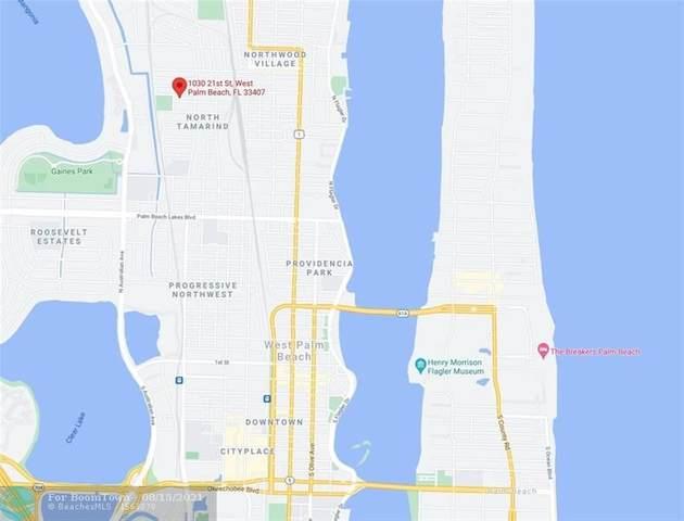 1030 21st St, West Palm Beach, FL 33407 (#F10297081) :: Michael Kaufman Real Estate