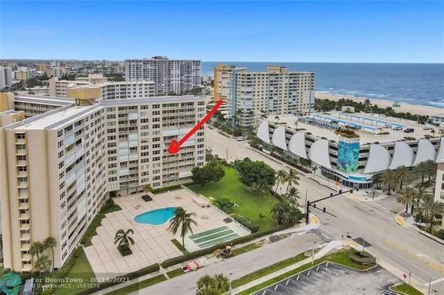 201 N Ocean Blvd #603, Pompano Beach, FL 33062 (#F10297171) :: The Power of 2   Century 21 Tenace Realty