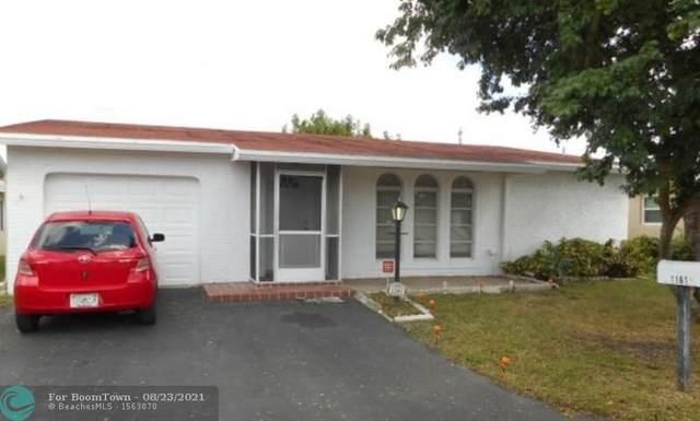 1161 NW 49th St, Deerfield Beach, FL 33064 (MLS #F10297399) :: Castelli Real Estate Services