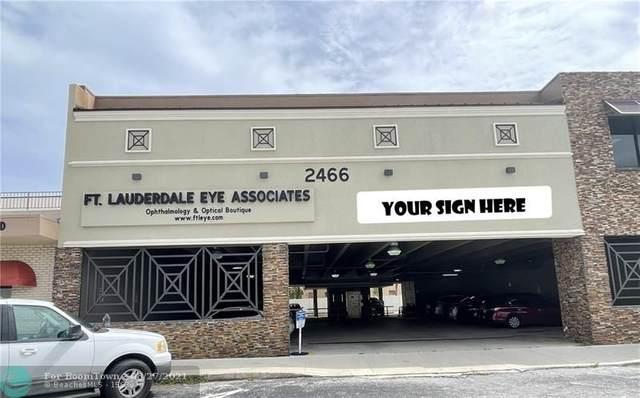 2466 E Commercial Blvd #101, Fort Lauderdale, FL 33308 (MLS #F10298595) :: The MPH Team