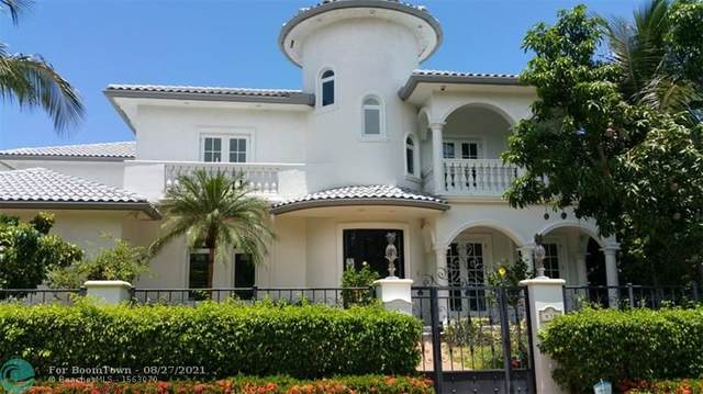 438 Coconut Isle Dr, Fort Lauderdale, FL 33301 (MLS #F10298604) :: Adam Docktor Group